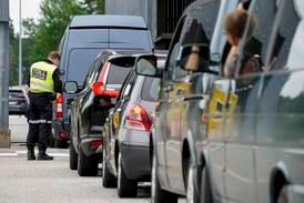 Kraftig økning i bilister som forsøker å krysse grensa ved gamle Svinesund