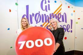 Nesten 7.000 nordmenn har blitt Lotto-millionærer – Fredrikstad har flest i både Østfold og Viken