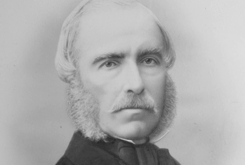 Georg Sibbern ble født på Værne Kloster i 1816.