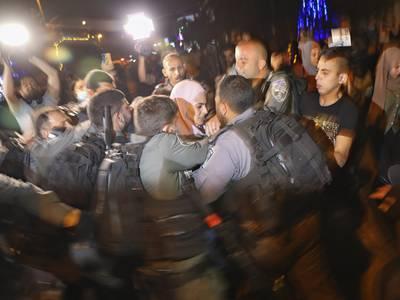 Palestinere raser mot mulige utkastelser i Jerusalem – får FN-støtte