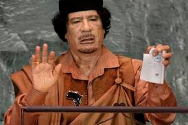 Ti år siden Libya-bombing: - For den jevne libyer var det bedre under Gaddafi