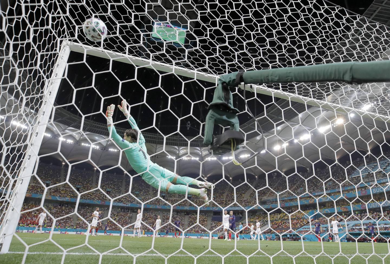 Kampens vakreste scoring var det Paul Pogba som sto for. Foto: