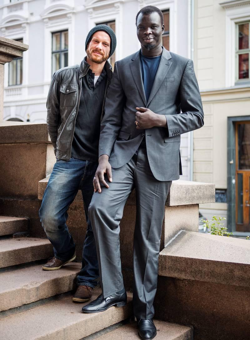 Regissør Florian Schewe har laget film om Agel Machars spesielle fortid og Sør-Sudans første steg som selvstendig land. FOTO: FRØYDIS FALCH URBYE