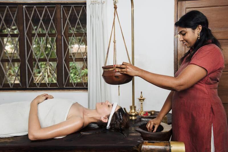 Ayurveda er en eldgammel naturmedisinsk behandlingsform som er utbredt i Inida og på Sri Lanka. FOTO: ISTOCK