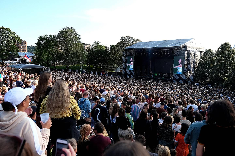 Bilde er tatt på Øyafestivalen i 2019. Arrangørene satser på at alt ligger til rette for en normal festivalsommer i 2022