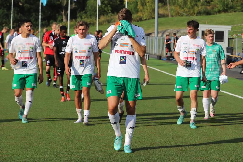 1. runde i cupen, Kråkerøy-FFK 0-3.