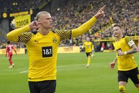 Haaland toppscorer etter to mål i comebacket – Dortmund opp på tabelltopp
