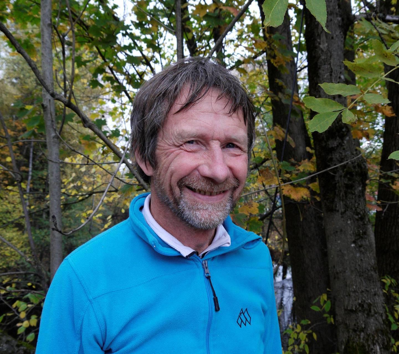 Morten Dåsnes, leder i Friluftsrådenes Landsforbund. FOTO: ASGEIR KNUDSEN