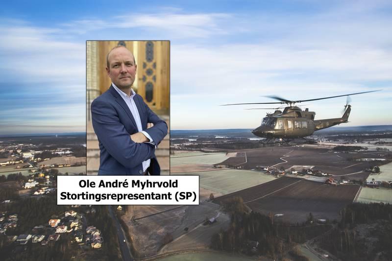 Dersom vårt forslag om å flytte noen få helikoptre til Bardufoss hadde fått flertall ville dette styrke totalberedskapen i landet, uten å svekke aktivitet eller beredskap på Rygge og Østlandet.