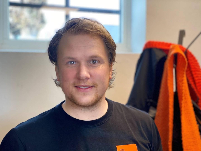 Andreas Thorset, prosjektkoordinator i Stiftelsen Kirkens Bymisjon Drammen