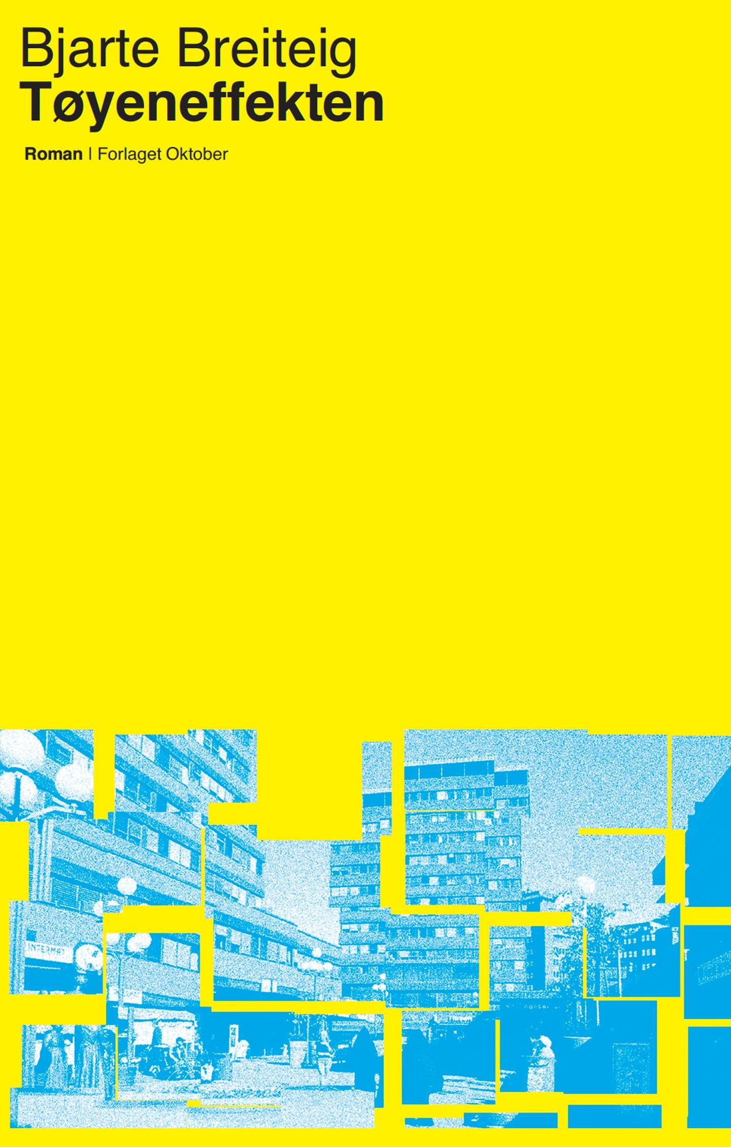 Bjarte Breiteigs bok «Tøyeneffekten», som kommer ut i oktober.