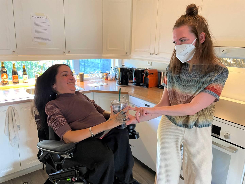 Shamini Thevarajah og BPA-assistent Elise Fuglstad
