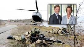 Senterpartiet og Myhrvold svekker Norges beredskap og Rygge militære flystasjon