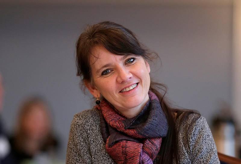 Oslo  20141204.Administrerende direktør i Arbeidsgiverforeningen Spekter, Anne-Kari Bratten,   på  helsepolitisk lunsj som Spekter  arrangerte.Foto: Vidar Ruud / NTB scanpix