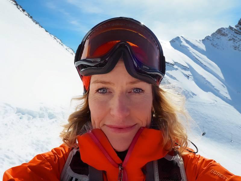 Elizabeth Lingjærde har en vill drøm om å bli skiboms på heltid, i høy alder!