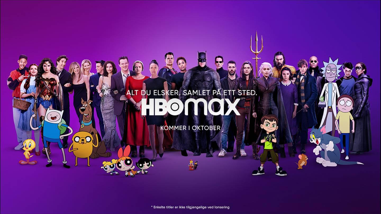 Populærkultur i mange former kommer på HBO Max, men pris og innhold er foreløpig ikke offentliggjort.