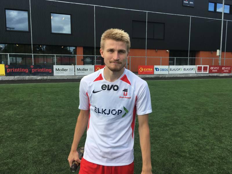 Jens Bonde Aslaksrud ble matchvinner for Ullern.