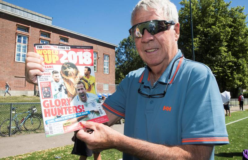 Egil «Drillo» Olsen kan få mange nye VM-minner når han skal dekke 16 kamper for NRK i Russland.