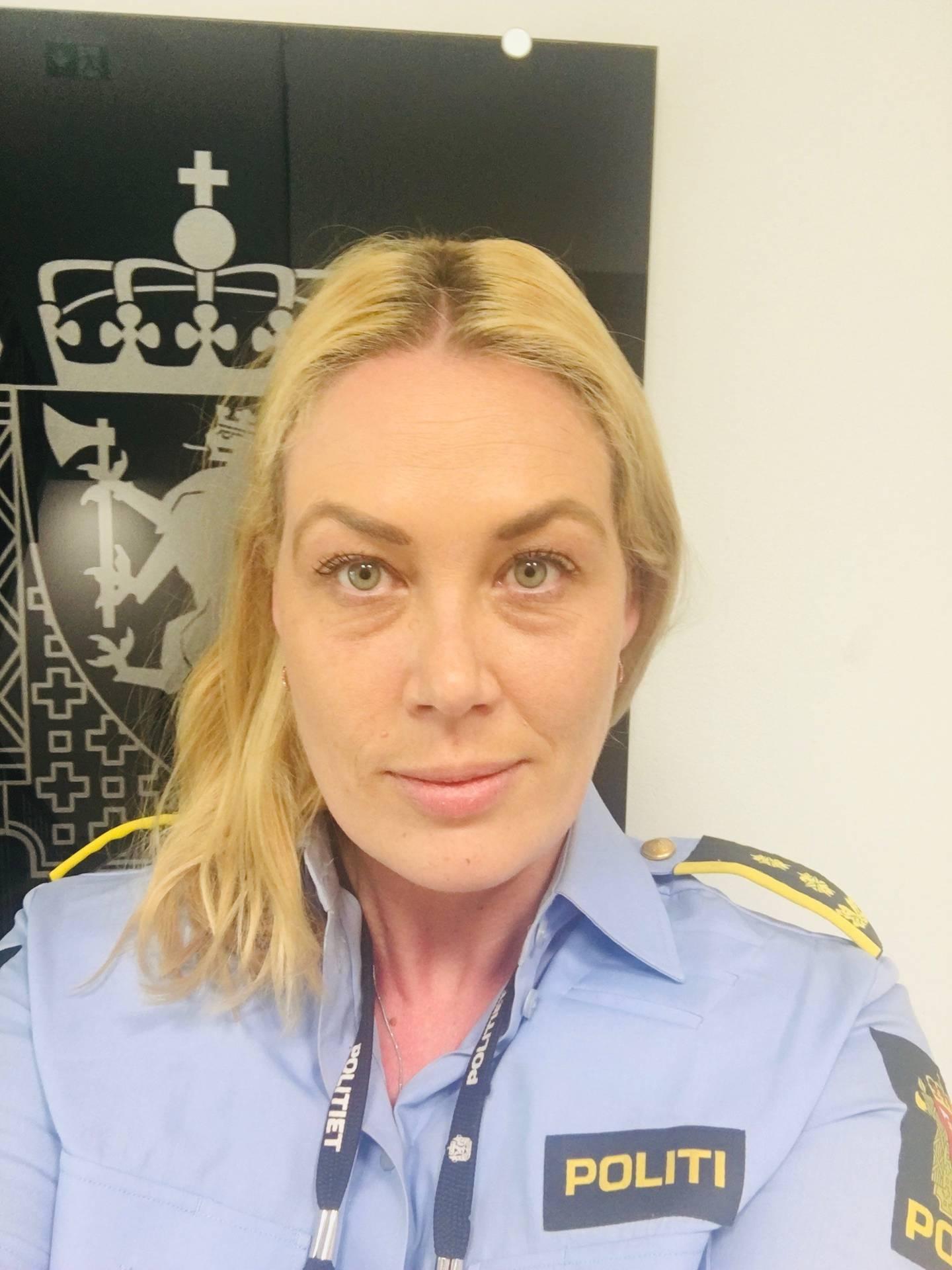 Politiadvokat Thea Sletto Øverseth i Øst politidistrikt.