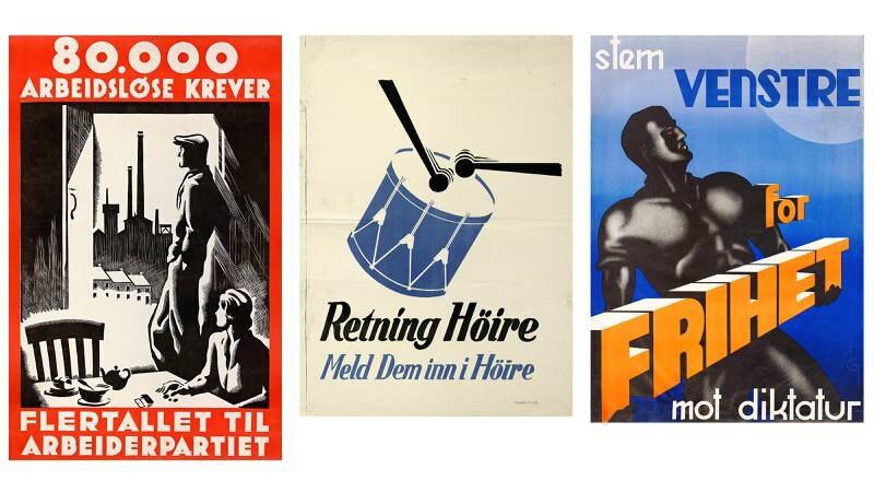FOTO: Nasjonalbiblioteket, plakatamlingen