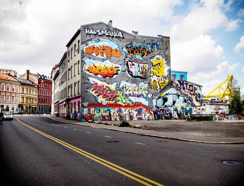 Tomtene i Hausmannsgate, som kommunen har eid siden 2004, ligger an til å bli solgt for 30 millioner kroner. FOTO: MARTE GJÆRDE