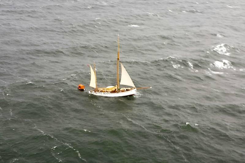 «Wyvern» like før den sank 11.juli.