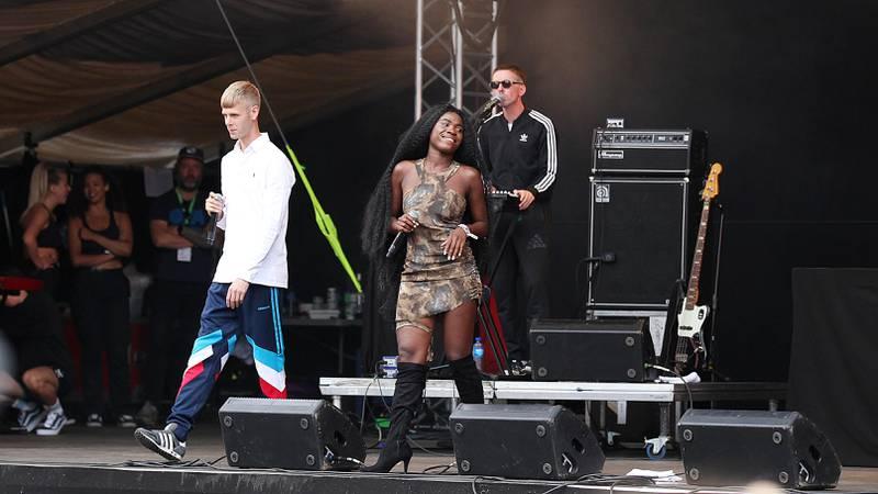 Lars Vaular og Myra på Øyafestivalen.