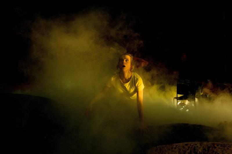 Ane Dahl Torp i «Solaris» på Det Norske Teatret. Foto: Erika Hebbert