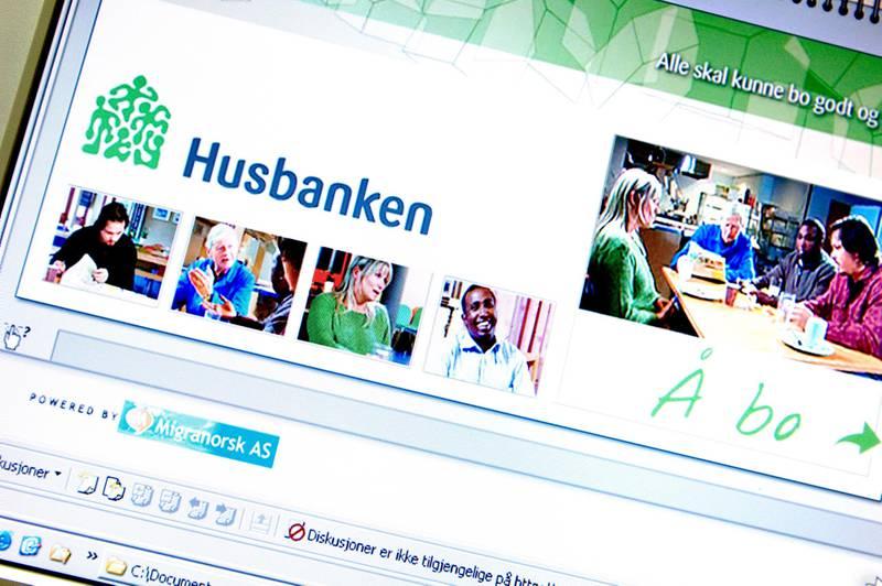 """Husbanken lanserer sitt prosjekt """"Å bo"""" - en tjeneste som på sju forskjellige språk forteller alt om det å bo i Norge - hvordan legge inn bud, borettslag, retter og plikter osv  FOTO: Luca Kleve-Ruud"""