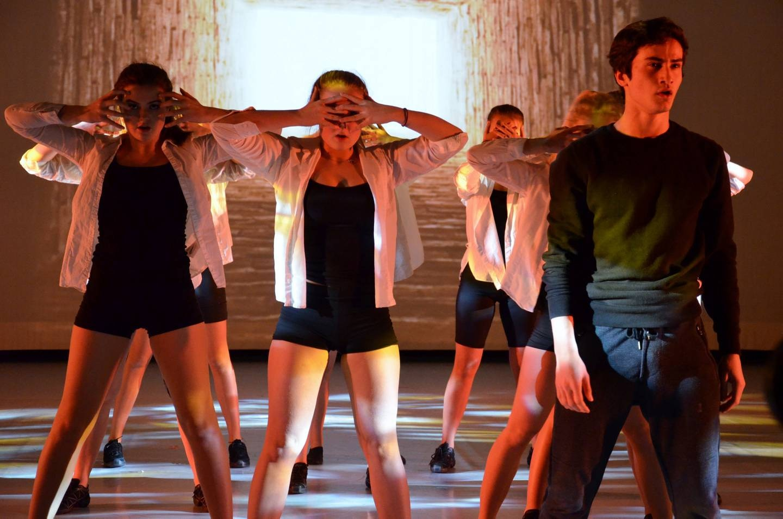 Danseelever på Attic viser hva de har lært. FOTO: SILJE S. SKIPHAMN