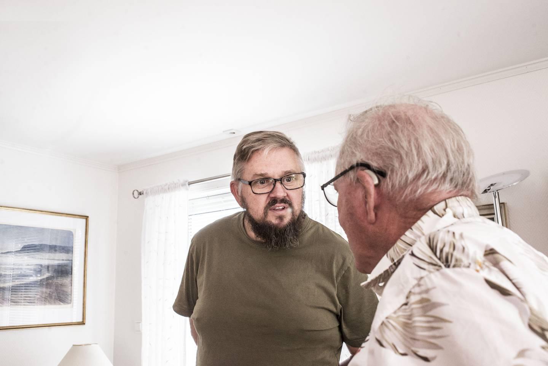 Sønnen Rune Solmyr har fungert som bindeledd i saken. Han er sjeleglad for at faren hadde advokatdekning takket være medlemskapet i NFF og LO.
