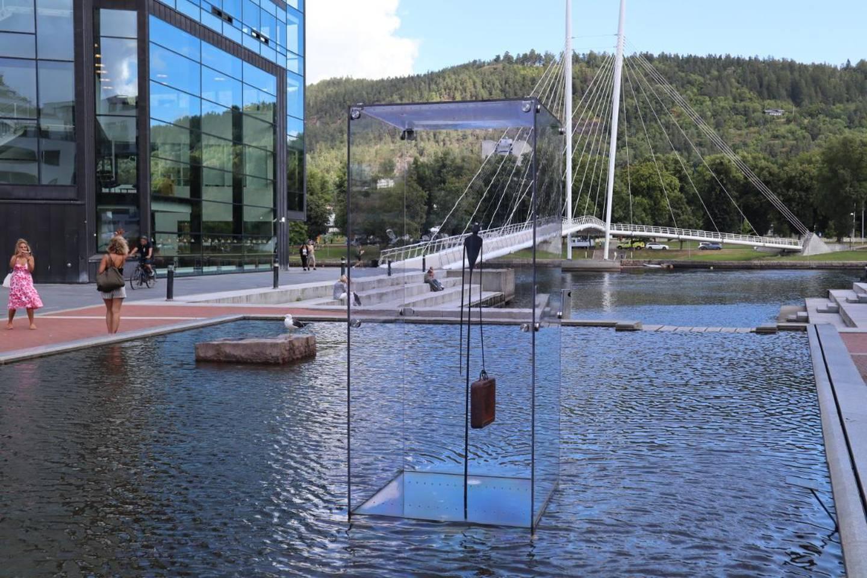Skulpturen til Marcus Mars har prydet Papirbredden siden 2018.