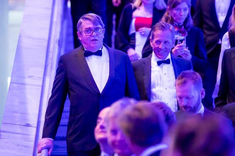 Investor og aksjemegler Jan Petter Sissener (til venstre) har i årets valgkamp støttet Oslo Senterparti med 100.000 kroner. En pengestøtte som Sp-politikeren Jan Bøhler har utløst, med sitt initiativ «Trygg by med Jan». Foto: Håkon Mosvold Larsen / NTB