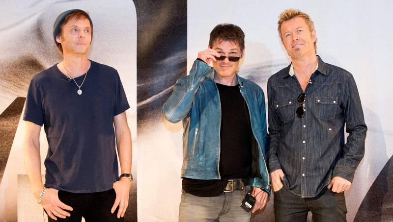 a-ha låter akkurat som forventet på sitt nye album. F.v. Paul Waaktaar Savoy, Morten Harket og Magne Furuholmen. FOTO: BERIT ROALD/NTB SCANPIX