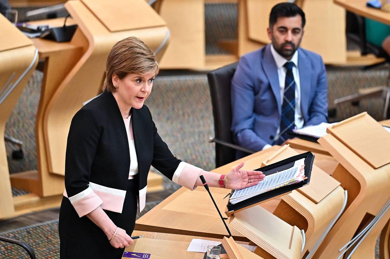 Nicola Sturgeon, Skottlands førsteminister, leder regjeringen som har fremmet lovforslaget.