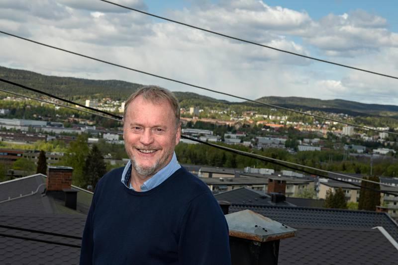 Hjemme hos Raymond Johansen. Politiker for Arbeiderpartiet. Leder for Oslos byråd. Byrådsleder.