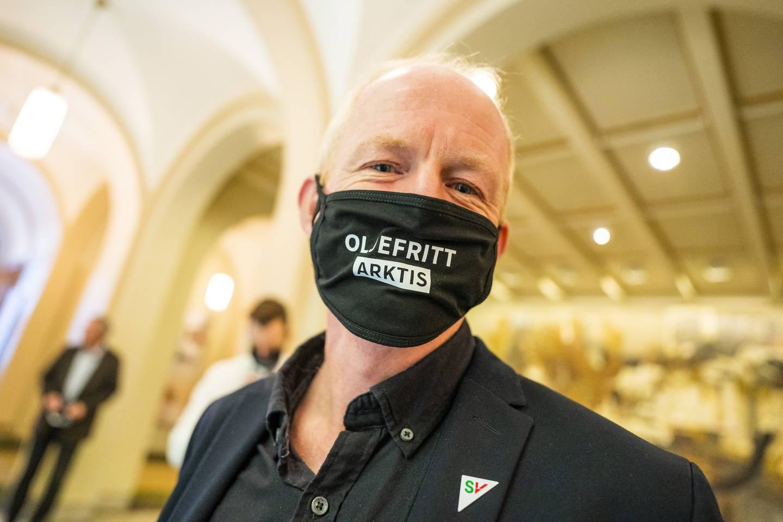 Lars Haltbrekken, stortingsrepresentant for SV.