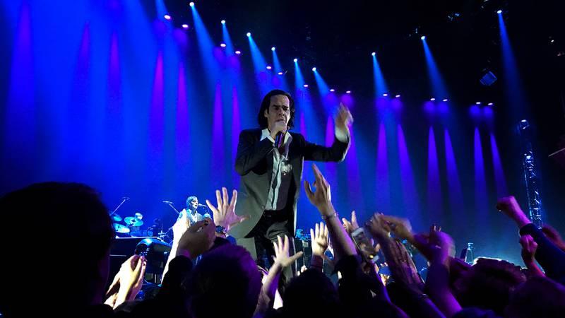 Nick Cave i Oslo Spektrum.