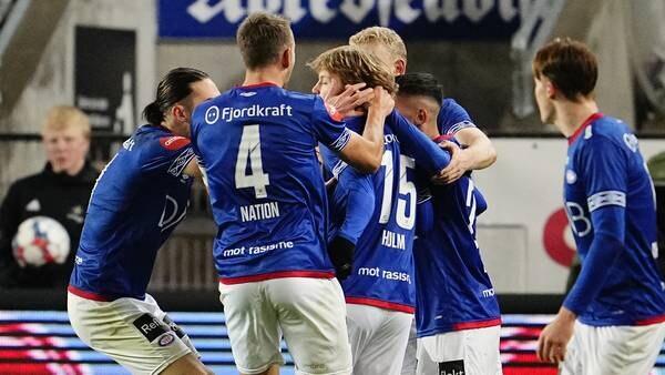 Holm berget VIF-poeng mot RBK med drømmeskudd i krysset