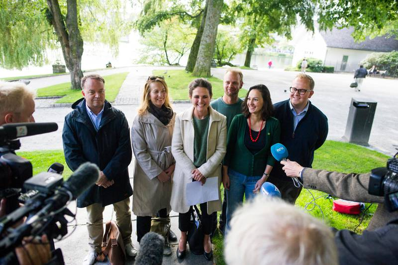 Ap Stavanger kalte inn til pressekonferanse i Byparken tirsdag klokken 15. 30.