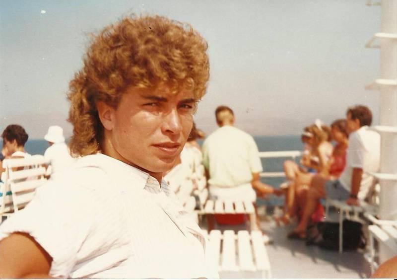 Ole Petter Diseth på Jamaica i 1987.