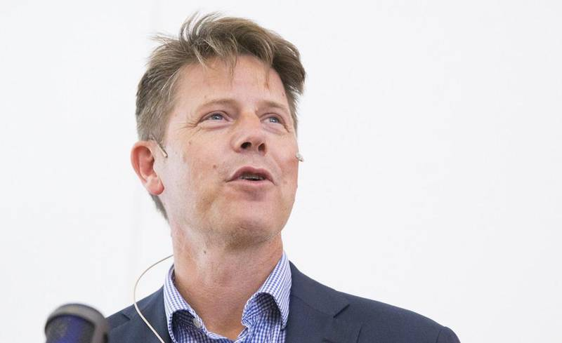OSLO  20160909. Den nye generalsekretæren, Bernt Apeland  i Røde Kors.   Foto: Berit Roald / NTB scanpix