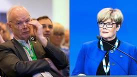 Senterpartiet og Høyre i bitter ordkrig om politireformen