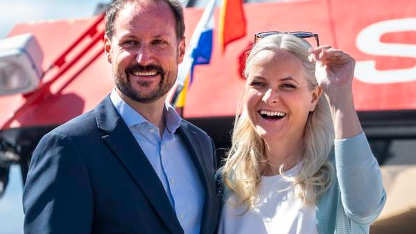 Kronprinsparet på fylkestur til Østfold