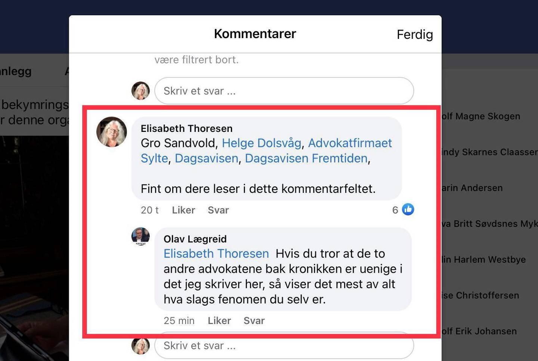 Advokat Olav Lægreid kaller uføre for suppehuer.