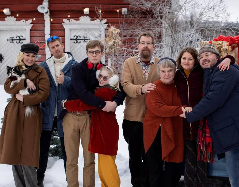 «Gledelig jul»s stjernelag fyller et hull i den norske julesjangertradisjonen. Foto: Nordisk Film Distribusjon