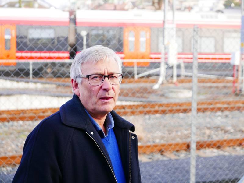 Jarle Rasmussen, prosjektsjef i Bane Nor. Foto: Paul Norberg