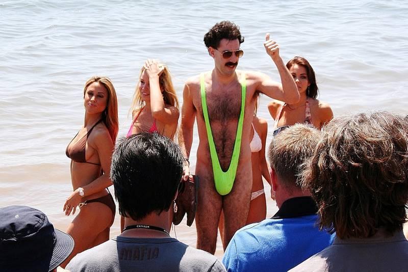 Borat, eller Sacha Baron Cohen kom til Cannes i sin «mankini», og stranden er aldri blitt det samme igjen.