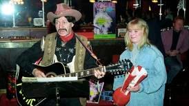 Cowboy og barnestjerner på tivoli i Moss