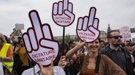 Demonstrasjoner mot vaksinekrav i Frankrike